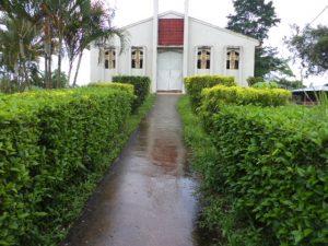 Rollstuhlgerechter Zugang zur Kirche